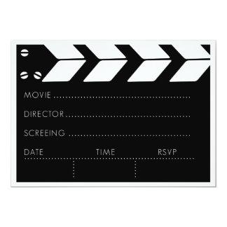 Customizable Movie Night Card