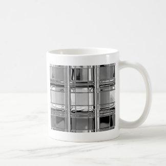 customizable mug Shades of Gray Glass Mosaic