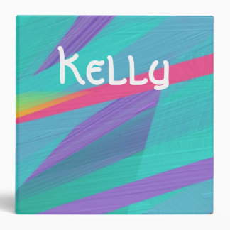 Customizable Multi Color Painted Binder