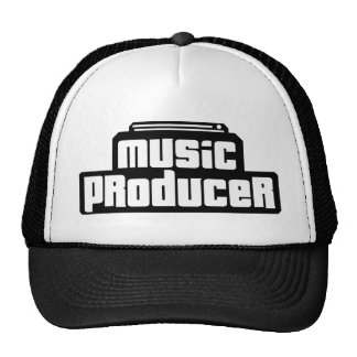 Customizable Music Producer Trucker Hat