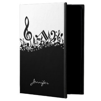Customizable Musical Notes Cover For iPad Air