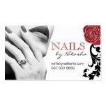 Customizable Nail Technician Business Cards