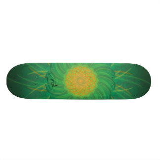 Customizable Nature (Psychedelic spirograph) Skate Board