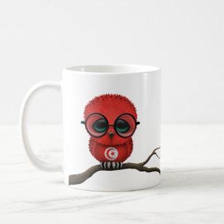 Customizable Nerdy Tunisian Baby Owl Chic Coffee Mug