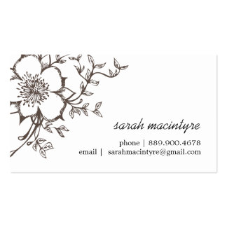 Customizable Networking / Calling Cards Business Card
