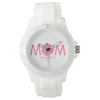 Customizable New Mother Wrist Watch