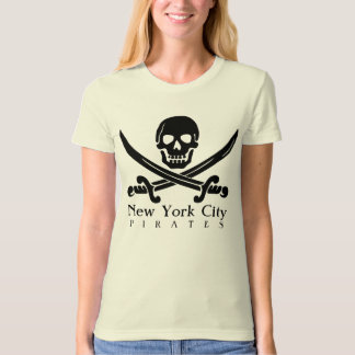 Customizable New York City Pirates Skull Shirt