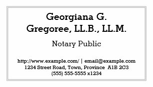 Notary public business cards profile cards zazzle ca customizable notary public business card reheart Gallery