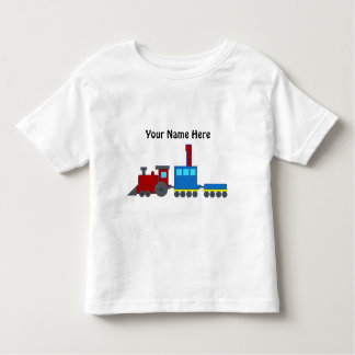 Customizable number 1 t-shirt train