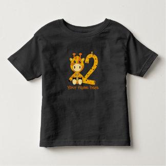 Customizable number 2 t-shirt