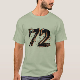 customizable number-72 shirt design gift idea hip