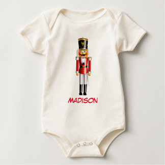 Customizable Nutcracker Baby Bodysuit