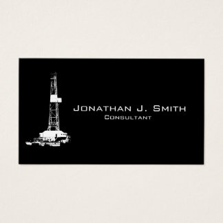 Customizable Oilfield Business Card