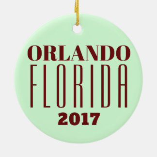 Customizable Orlando, Florida Ornament
