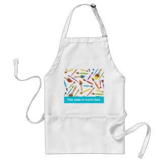 Customizable painting fun crafting apron
