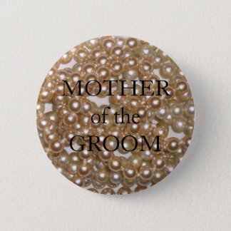 Customizable Pearls 2 Inch Round Button