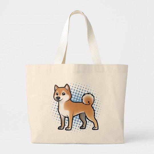 Customizable Pet Large Tote Bag