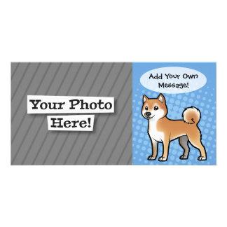 Customizable Pet Photo Greeting Card