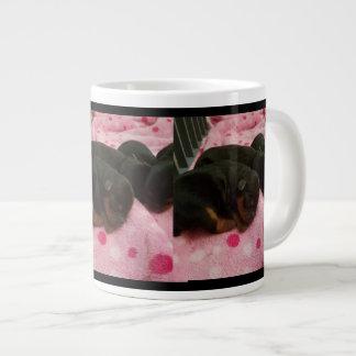 Customizable Pet Pic Jumbo Coffee Mug - Yorkies