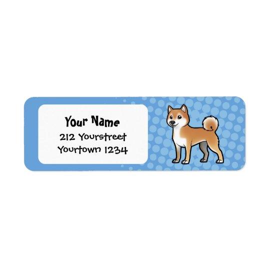 Customizable Pet Return Address Label