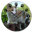 Customizable pet wall clock