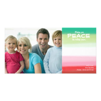 Customizable Photo Card // Christmas & Holidays