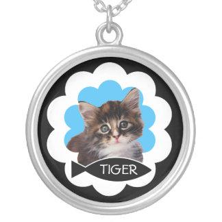 Customizable Photo Cat Necklace