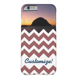 Customizable Photo Chevron Barely There iPhone 6 Case