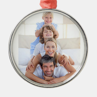 Customizable Photo Christmas Tree Ornament