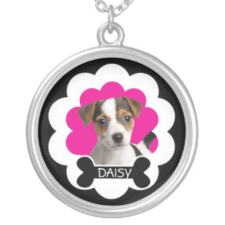 Customizable Photo Dog Necklace