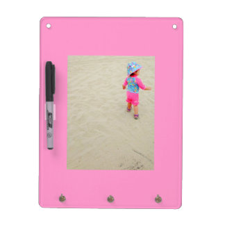 Customizable Photo Dry Erase Message Board