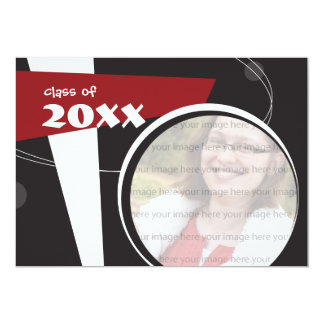 Customizable Photo Graduation Invitation