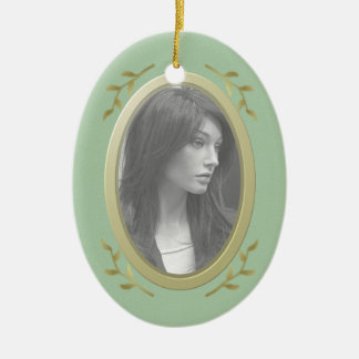 Customizable Photo Memorial / Remembrance Ceramic Ornament
