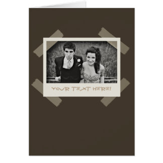 Customizable Photo Snapshot All-Occasion Card