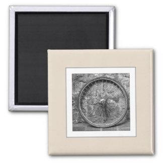 Customizable Photo Upload Beige Magnet