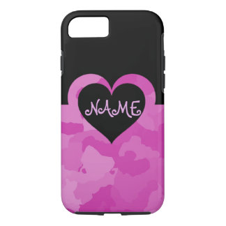 Customizable Pink Camo Case-Mate iPhone Case