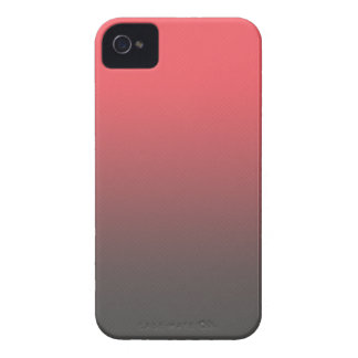 Customizable Pink Gray Ombre Background iPhone 4 Case-Mate Case