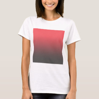 Customizable Pink Gray Ombre Background T-Shirt
