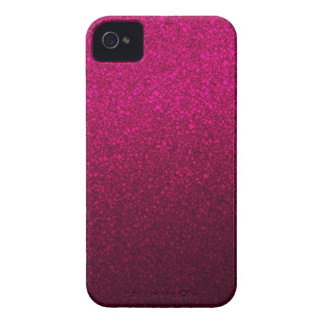 Customizable Pink Ombre Glitter Background iPhone 4 Case-Mate Case
