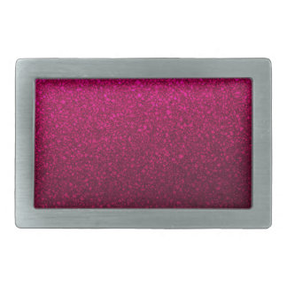 Customizable Pink Ombre Glitter Background Rectangular Belt Buckles