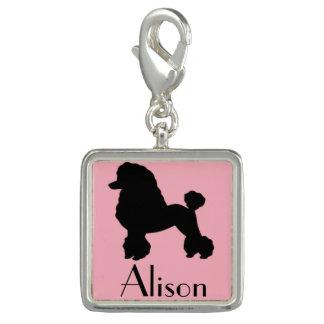 Customizable Pink Poodle Skirt Charm