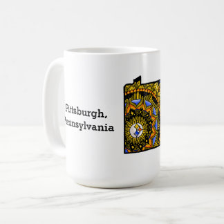 Customizable Pittsburgh Pennsylvania Mug