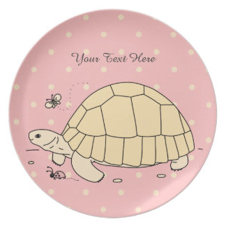 Customizable Ploughshare Tortoise Plate