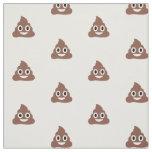 Customizable Poo Emoticon Fabric
