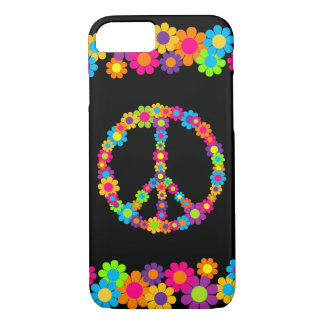 Customizable Pop Flower Power Peace Case-Mate iPhone Case