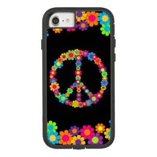Customizable Pop Flower Power Peace Case-Mate Tough Extreme iPhone 8/7 Case