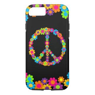 Customizable Pop Flower Power Peace iPhone 7 Case