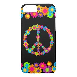 Customizable Pop Flower Power Peace iPhone 8/7 Case