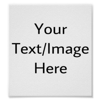 Customizable products poster