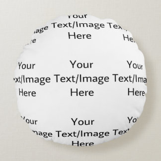 Customizable products round pillow